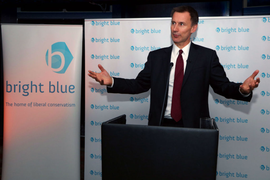 Annual reception with The Rt Hon Jeremy Hunt MP | Bright Blue